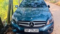 Bán Mercedes A200 năm 2014, màu xanh lam, nhập khẩu nguyên chiếc số tự động