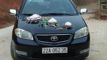 Cần bán gấp Toyota Vios 1.5 MT năm 2005, màu đen, giá 185tr