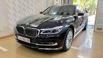 Bán ô tô BMW 7 Series 740 Li model 2016, màu đen, nội thất kem