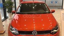 Bán xe Volkswagen Polo 1.6 AT sản xuất năm 2018, màu đỏ, xe nhập