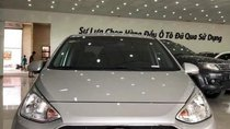 Bán ô tô Hyundai Grand i10 AT năm 2017, màu bạc, nhập khẩu, xe đẹp keng