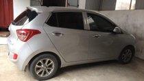Bán Hyundai Grand i10 đời 2015, màu bạc, nhập khẩu, bản đủ