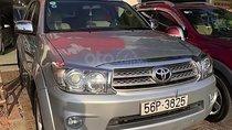 Cần bán xe Toyota Fortuner 2.5G năm 2010, màu bạc