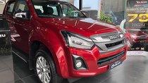 Cần bán xe Isuzu Dmax LS Prestige 3.0L 4x4 AT đời 2018, màu đỏ, nhập khẩu