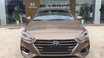 Bán Hyundai Accent năm 2019, màu nâu