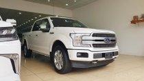 Bán Ford F150 Platinum nhập Mỹ màu trắng, nội thất đen, sản xuất 2018 xe mới 100%