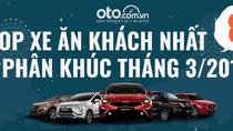 Top xe ăn khách nhất 8 phân khúc tại Việt Nam tháng 3/2019