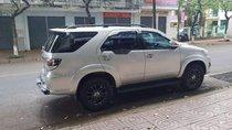 Bán Toyota Fortuner đời 2016, màu bạc, nhập khẩu