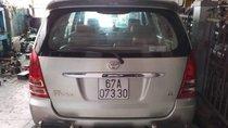 Bán Toyota Innova năm 2008, màu bạc xe gia đình