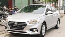 Cần bán lại xe Hyundai Accent 1.4 MT đời 2018, màu bạc số sàn, giá chỉ 490 triệu