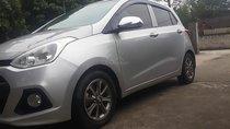 Cần bán gấp Hyundai Grand i10 sản xuất 2014, màu bạc, xe nhập số sàn, giá tốt