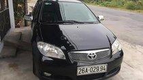 Bán xe Toyota Vios 1.5MT năm 2007, màu đen số sàn, 170 triệu