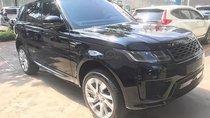Xe LandRover Range Rover Sport đời 2017, màu đen, xe nhập