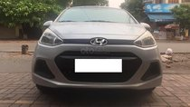 Cần bán gấp Hyundai Grand i10 1.0 MT năm 2015, màu bạc, nhập khẩu