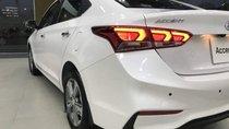 Bán xe Hyundai Accent 1.4 MT Base 2019, màu trắng, nhập khẩu, 430tr