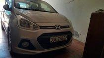 Cần bán lại xe Hyundai Grand i10 năm sản xuất 2014, màu bạc, xe nhập