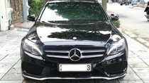 Bán Mercedes C300 AMG 2.0 AT đời 2017, màu đen