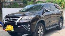 Bán gấp Toyota Fortuner 2.4G sản xuất 2017, màu nâu, xe nhập, số sàn