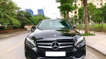 Bán Mercedes C200 màu đen sản xuất 2015 đăng ký biển Hà Nội