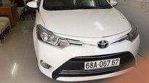 Bán Toyota Vios năm sản xuất 2017, màu trắng, giá 490tr