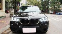 Xe BMW X3 xDrive20i màu đen nâu/ kem xe sản xuất 2014 đăng ký 2015 biển Hà Nội