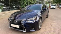 Bán xe Lexus GS350 sx 2016, số tự động, máy xăng, màu xanh, nội thất màu nâu, xe nhập khẩu, mới đi 16000 km