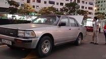 Bán xe Toyota Crown sx 1996, số tay, máy xăng, màu bạc, nội thất màu nâu, odo 200000 km