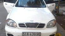 Cần bán gấp Daewoo Lanos sản xuất 2002, màu trắng, 110 triệu