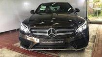 Xe Mercedes C300 AMG nâu, ĐK 8/2018, bảo hành chính hãng