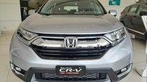 Bán Honda CR V sản xuất năm 2019, màu bạc, nhập khẩu nguyên chiếc