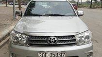 Cần bán Toyota Fortuner 2.7V 4x4 AT 2010, màu bạc, 460 triệu
