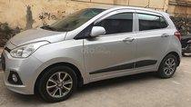 Bán ô tô Hyundai Grand i10 sản xuất 2014, màu bạc, nhập khẩu
