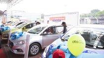 Bán đúng giá, Hyundai Santa Fe gây sốt tại Hội chợ Oto.com.vn