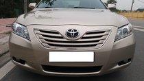Toyota Camry V6 3.5 limited XLE màu vàng/kem sản xuất 12/2007 đăng ký biển Hà Nội