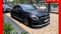 Bán xe Mercedes CLA45 đen nội thất đen 2014 chính hãng, trả trước 450 triệu nhận xe ngay