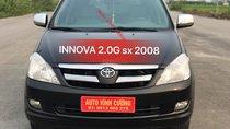 Bán Toyota Innova 2.0G sản xuất năm 2008, màu đen gốc thủ đô