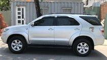 Bán Toyota Fortuner 2.5G đời 2009, màu bạc, 585 triệu