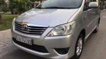 Bán Toyota Innova MT năm 2013, màu bạc