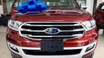 Bán Ford Everest sản xuất năm 2019, màu đỏ, xe nhập