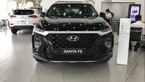 Bán ô tô Hyundai Santa Fe đời 2019, màu đen