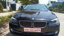 Bán BMW 5 Series 520i, model 2014, màu đen, xe đẹp chất