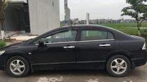 Cần bán Honda Civic năm 2007, màu đen, giá tốt