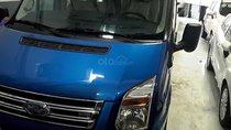 Bán xe Ford Transit Luxury 2019, màu xanh lam
