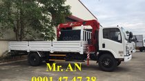 LH: 0901 47 47 38 - Xe tải cẩu Isuzu 7 tấn, thùng 6,5m, cẩu Unic mới 100%