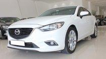 Bán Mazda 6 2.5AT Prenium đời 2016, full option, màu trắng, giá 770 triệu