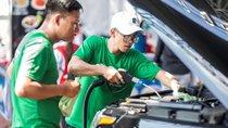 Rửa xe ô tô không tốn nước với PowerSteam