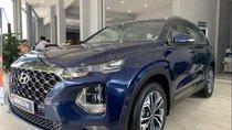 Bán Hyundai Santa Fe sản xuất 2019, màu xanh lam, nhập khẩu nguyên chiếc