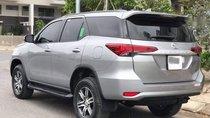 Bán xe Toyota Fortuner 2.4G sản xuất năm 2017, màu bạc, xe nhập số sàn