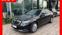 Bán xe Mercedes E200 màu đen, nội thất kem 2015 cũ chính hãng. Trả trước 480 triệu nhận xe