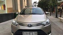 Bán Toyota Vios E sản xuất năm 2014, màu vàng còn mới, giá 420tr
